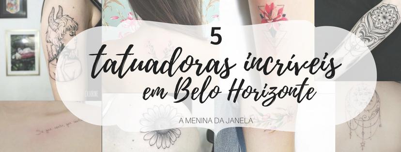 5 tatuadoras incríveis em Belo Horizonte