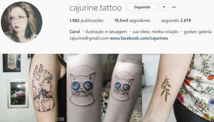 Tatuadoras BH - Carol Cajurine