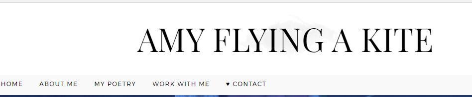 Blogs Lifestyle - Amy Flying a Kite