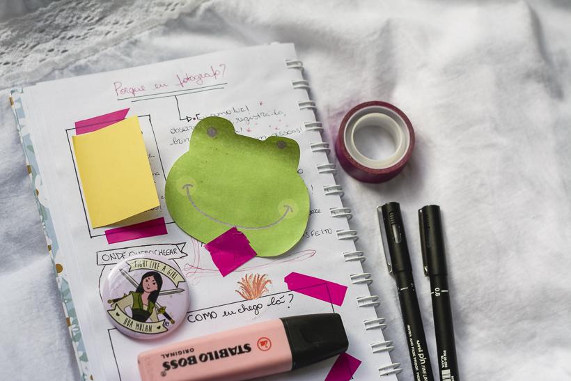 Creative journal - caderninho de criatividade