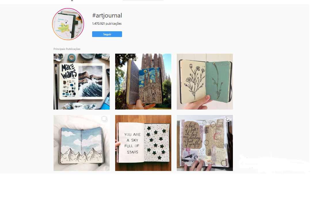 Instagram Inspiração TAGS
