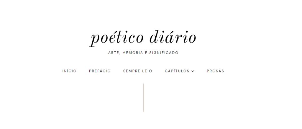 Blog Poético Diário