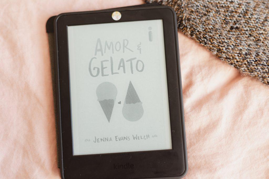 Livros lidos: Amor & Gelato